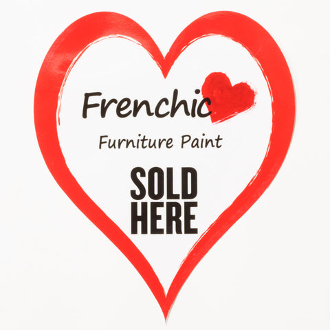 Window Decal Frenchic Sold Here
