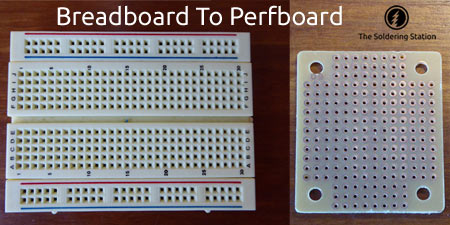 Breadboard To Perfboard
