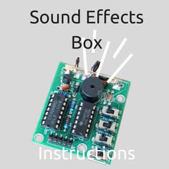 Sound Effects Box Instructions