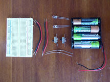 Breadboard and parts