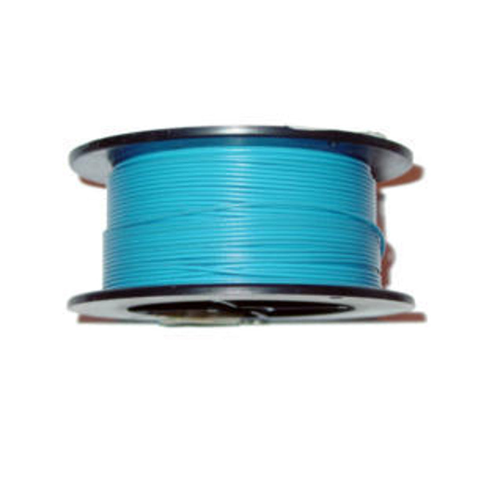 Blue 22 AWG Wire 100'
