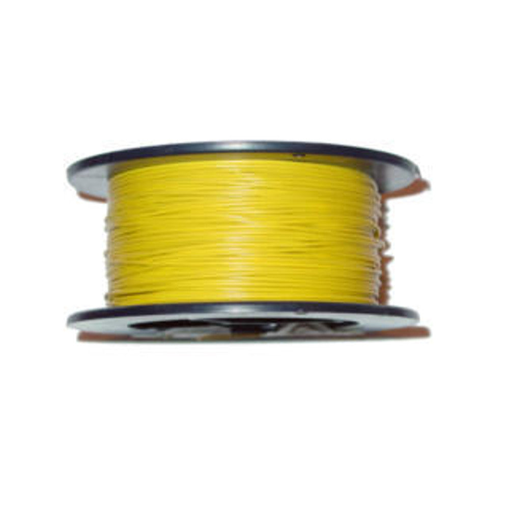 Yellow 22 AWG Wire 100'