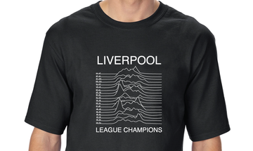 League Champions T-shirt - Unknown Pleasures