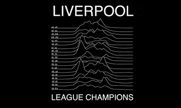 Liverpool Premier League Champions 70s Punk Tshirt