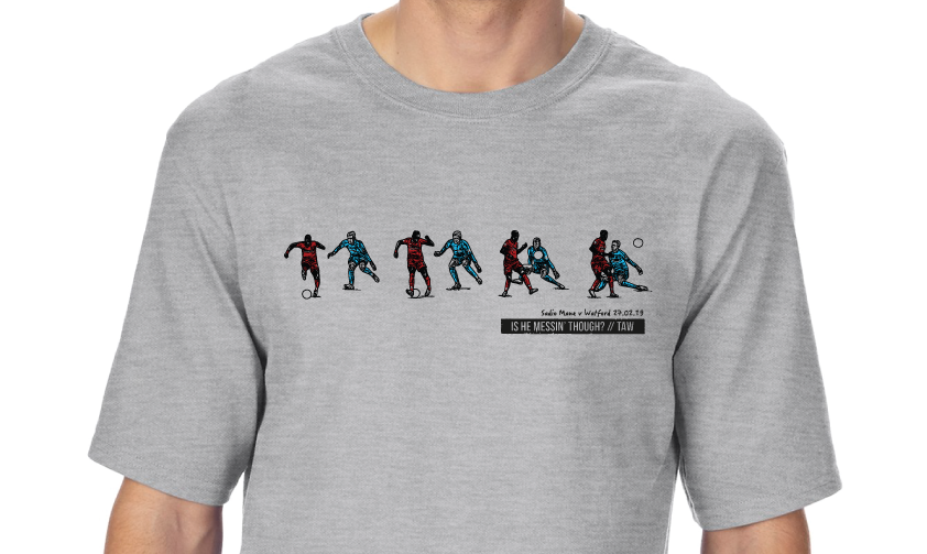 Mané Backheel T-Shirt