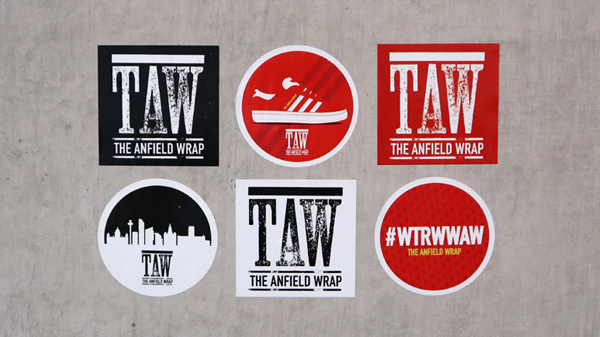 Liverpool The Anfield Wrap Stickers