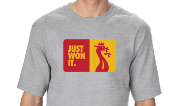 Just Won It - Liver Bird Crown T-Shirt