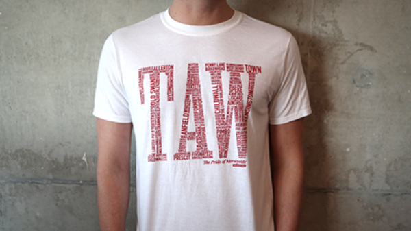 The Pride of Merseyside - TAW t-shirt