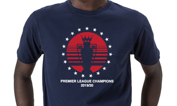Premier League Winners T-shirt - Blue