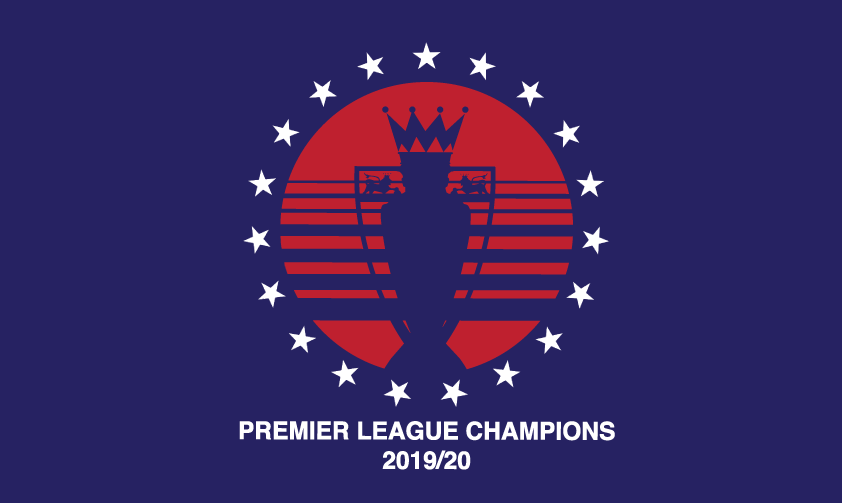 Liverpool Premier League Winners Tshirt - Blue