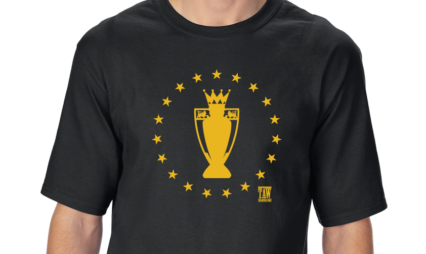 Premier League Winners - Black T-shirt