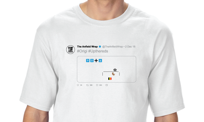 White Orgi Tweet T-Shirt