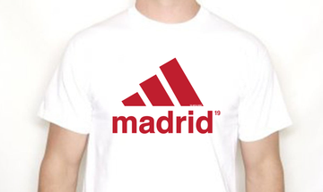 Liverpool Madrid 2019 Retro Tshirt
