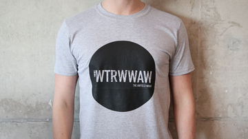 #WTRWWAW T-SHIRT - SMALL ONLY