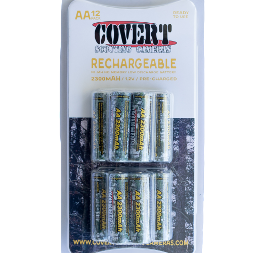 Covert 12 Pack AA Rechargeable Batteries (5113)