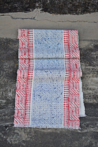 Hand Block Printed Table Runner.