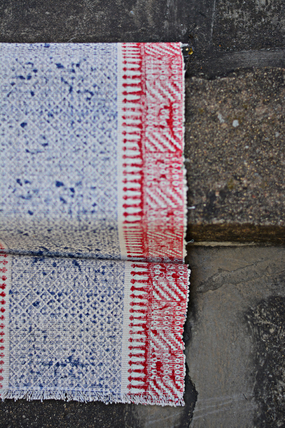 Hand Block Printed Table Runner. - metaphorracha