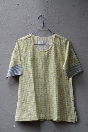 Madras Checks Tee-Shirt - metaphorracha