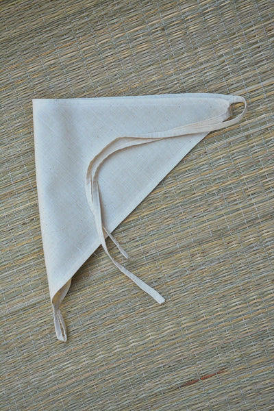 Ambara Charaka spun and Handwoven cotton muslin reusable nappy for Infants (0 - 3 months) - Set of 3.