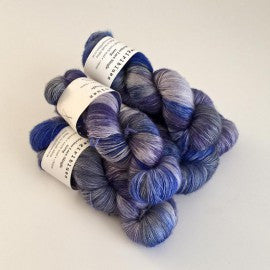 Cow Girl Blues - Merino single lace skein