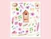 MY LOVELY GARDEN STICKERS