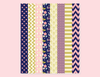 EVERYDAY PATTERN STRIPES STICKERS