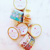 3 SKINNY WASHI TAPES SET - THE PINK COLLECTION