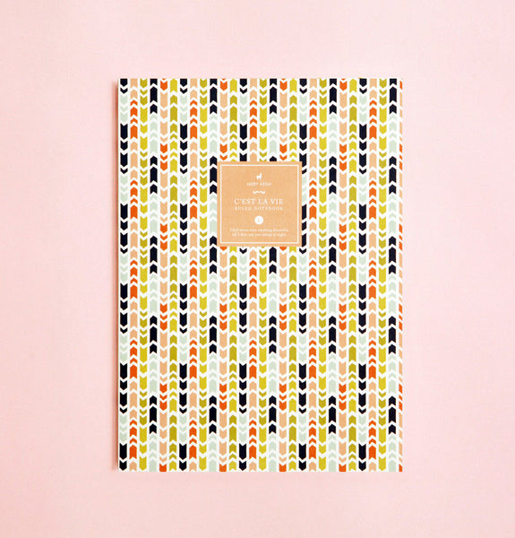 AMERICAN ARROWS PATTERN NOTEBOOK