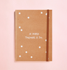 JE PENSE TOUJOURS A TOI SCREENPRINTING IN KRAFT JOURNAL (FREE SHIPPING)