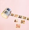 VINTAGE STAMPS PERFORATED WASHI TAPES