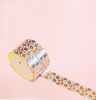 FLORAL ROSE GOLD WASHI TAPES
