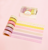 6 WASHI TAPES SET - THE CANDY COLLECTION