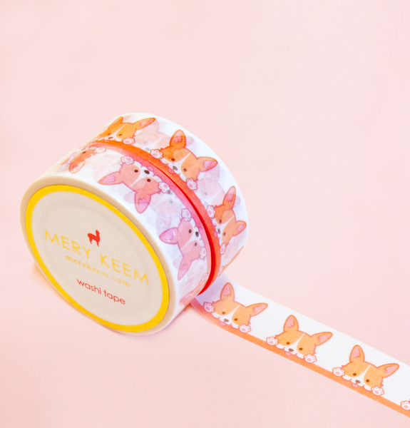 WELSH CORGI WASHI TAPES