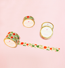 SHAMROCK FLORAL WASHI TAPES