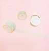 VINTAGE DELICATE FLOWER WASHI TAPES