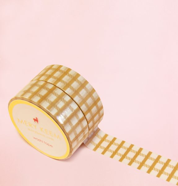 KAKKI PLAID WASHI TAPES