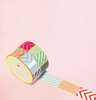 COLORFUL PATCHES WASHI TAPES