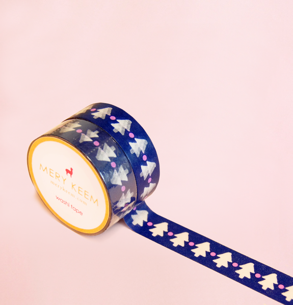 CHRISTMAS TREE WASHI TAPES