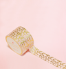 CORAL COLOR WITH VINES IN GOLD FOIL WASHI TAPES
