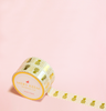GOLD PINEAPPLE WASHI TAPES