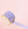 LILAC FLOWER WASHI TAPES