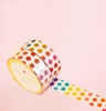 COLORFUL POLKA DOTS WASHI TAPES