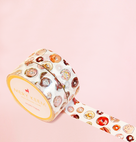 YUMMY DONUTS WASHI TAPES