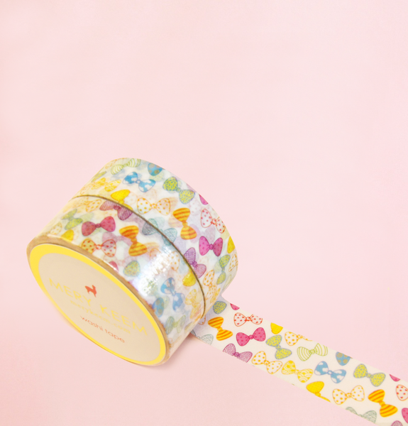 COLORFUL BOWS WASHI TAPES