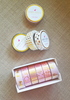 6 WASHI TAPES SET - THE PINK COLLECTION