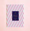 NEW! NEON STRIPES WEEKLY PLANNER WITH PVC COVER