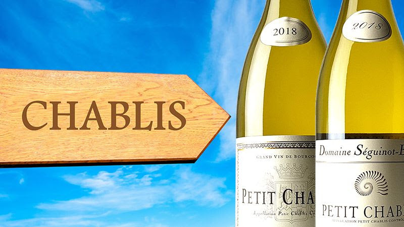 Chablis highly rated, under $35, just arrived, perfect for summer!