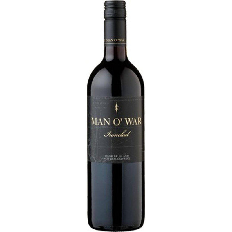 Man O' War 'Ironclad' Merlot Cabernet Malbec 2013-Red Wine-World Wine
