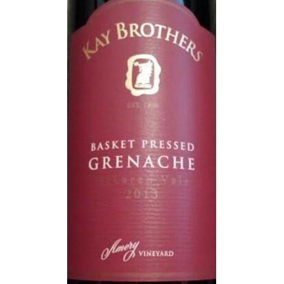 Kay Brothers 'Basket Pressed' Grenache 2018-Red Wine-World Wine
