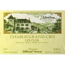 Billaud-Simon Chablis Grand Cru Les Clos 2012 Magnum 1500ml btl-White Wine-World Wine